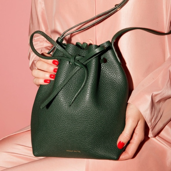 Mansur Gavriel Handbags - Mansur Gavriel Tumble Mini Bucket Bag